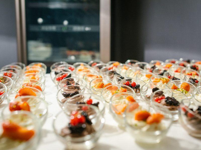 Dessert_in kleinen Gläschen
